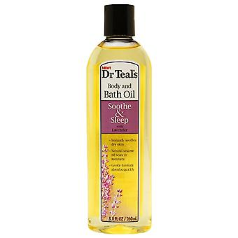 Dr. teal's body & bath oil, soothe & sleep with lavender, 8.8 oz