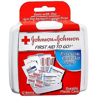 Johnson & johnson mini first aid to go kit, 1 ea