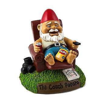 Bigmouth the couch potato garden gnome