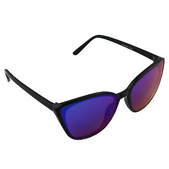 Óculos de sol UV 400 Wayfarer Preto Multicolorido Reflexivo 2744_42744_4