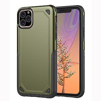 Per iPhone 11 Pro Case, Armour Slim Cover con protezione aggiuntiva della fotocamera, Army Green