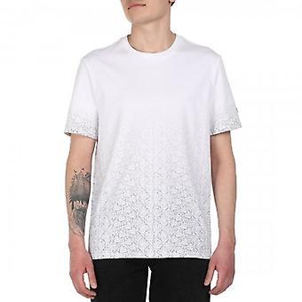 Guess SS White Multi-Logo Crew Neck T-Shirt M0GI57K8HM0