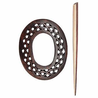 Exotica: Shawl Pin/Stick: Viola