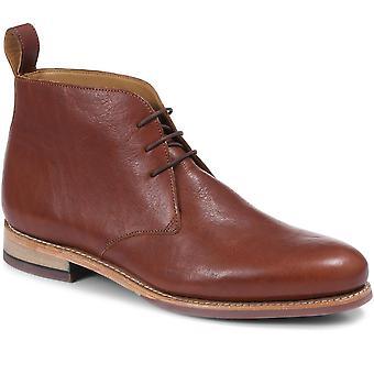 Jones Bootmaker Mens Wilton Lederen Chukka Boot