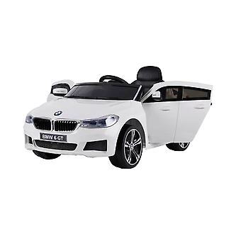 Licensed BMW 6 Series Gran Turismo 12V Electric Ride on Car White