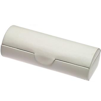 Davidt's watch case watch box, watch box for 5 watches white