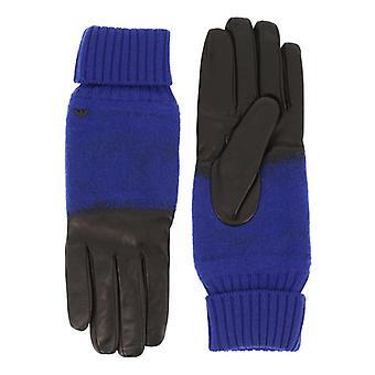Emporio Armani Men Blue Gloves -- 6241748144