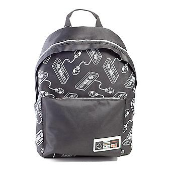 Official Nintendo NES Controller All Over Print Backpack