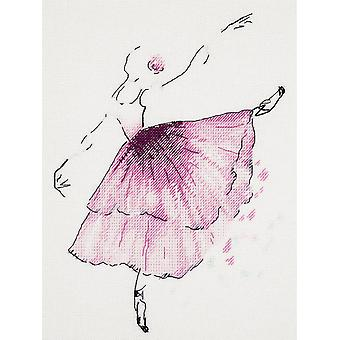 Panna Cross Stitch Kit : Anemone Flower Ballerina