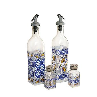 Cucina Oil and Vinegar Salt and Pepper Set
