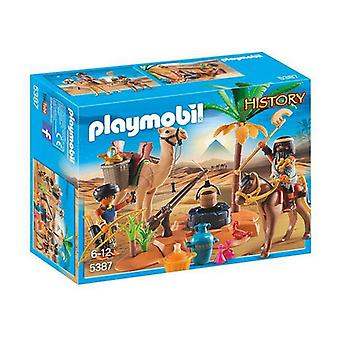 Playset History Egyptian Camp Playmobil 5387