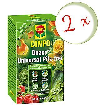 Sparset: 2 x COMPO Duaxo® Universal Mushroom-Free, 150 ml