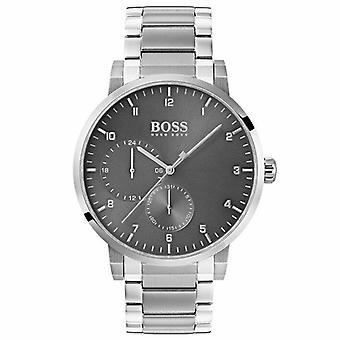 Hugo Boss 1513596 Oxygen Grey Dial Stainless Steel Men's Watch