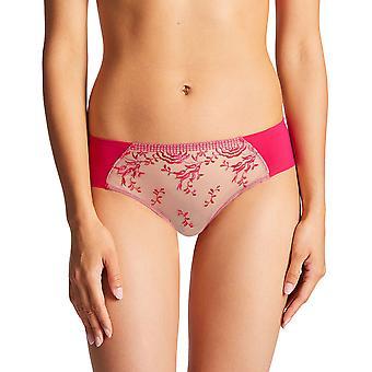 Aubade PF94 Women's Fleur De Passion Floral Embroidered Underwear Hipster