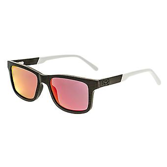 Earth Wood Tide Polarized Sunglasses - Espresso/Red-Yellow