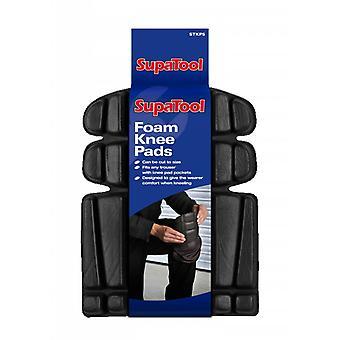 Supatool Foam Knee Pads (Pack of 2)