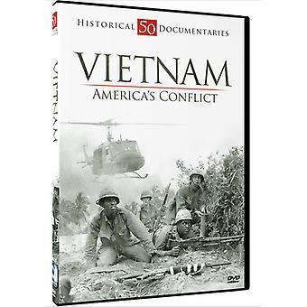 Vietnam War-Americas Conflict [DVD] USA import