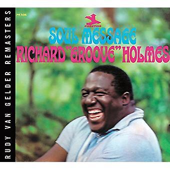 Richard Groove Holmes - själ meddelande [Vinyl] USA import