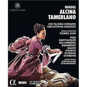 Händel: Alcina & Tamerlano [Blu-ray] USA import