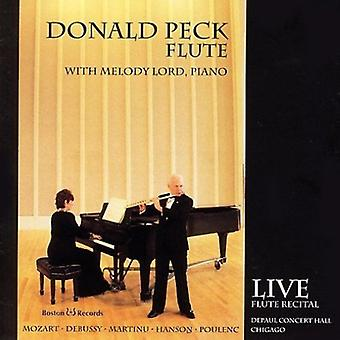 Donald Peck - Donald Peck, Flute... [CD] USA import