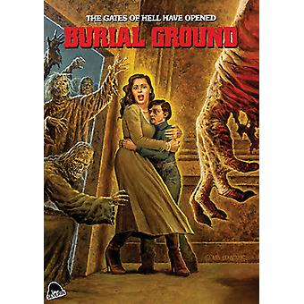 Burial Ground [DVD] USA import