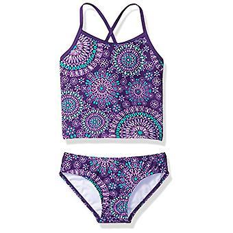 Kanu Surf Little Girlsă Melanie Beach Sport 2-Piece Banded Tankini Costum de baie, ...