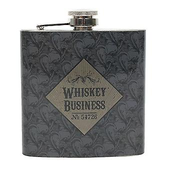 Kabinet van curiosa Whiskey Business heupfles