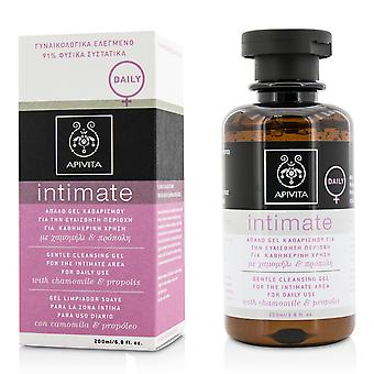 Intimate gentle cleansing gel for the intimate area for daily use with chamomile & propolis 201147 200ml/6.8oz