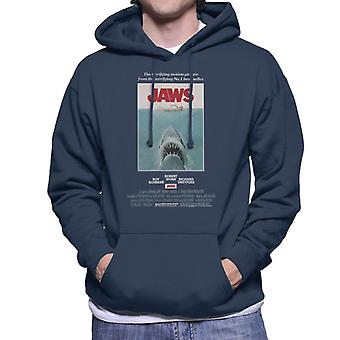 Jaws Movie Poster Men's Hooded Sweatshirt