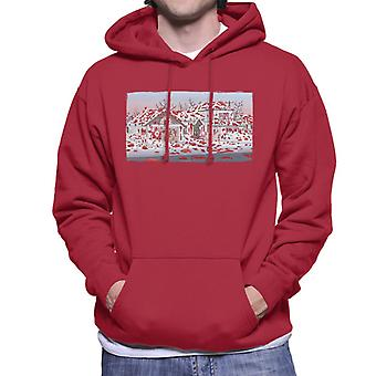 Rick and Morty Naked Ruben Raining Blood Men's Hooded Sweatshirt