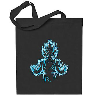 Dragon Ball Z Blau Gott Totebag