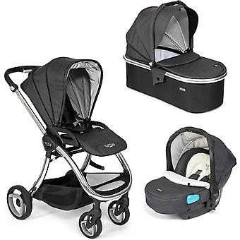 Tutti Bambini Arlo Chrome 3 in 1 Travel System- Zoethout
