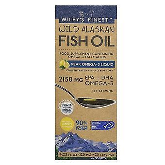 Wiley&apos&s Finest Peak Omega-3 Liquide 2150mg EPA & DHA 125ml