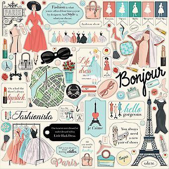 Carta Bella En Vogue 12x12 Inch Element Sticker