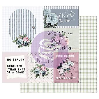 Prima Marketing Poetic Rose 12x12 Inch Sheets Mixed Feelings