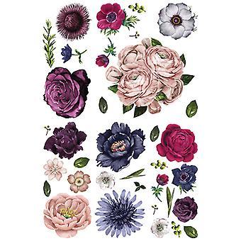 Re-Design med Prima Lush Floral II 45.2x31.1 Inch Decor Överföringar