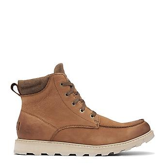 Sorel Madson Moc Toe Velvet Tan Waterproof Boots