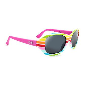 Kids skipit - polarized sunglasses w pink rainbow frame