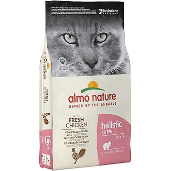 Almo Nature Holistic Maintenance Cat Dry Food Kitten Chicken - 12kg