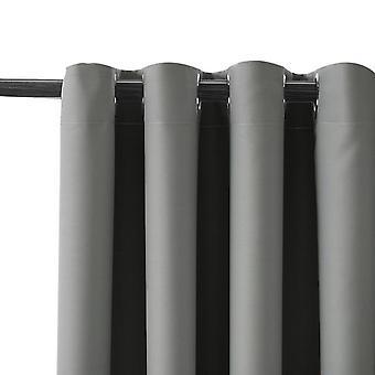 Cortinas negras modernas para las cortinas del dormitorio de la sala de estar para el tratamiento de la ventana