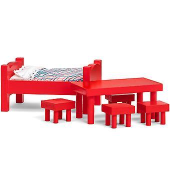 Meubels set bed + tafel