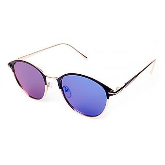 Sunglasses Unisex Cat.3 Blue Lens (19-114)