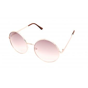 Lunettes unisexes or/or blanc/violet (20-108)