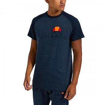 Ellesse Coper Crew Hals Raglan T-skjorte Navy Marl