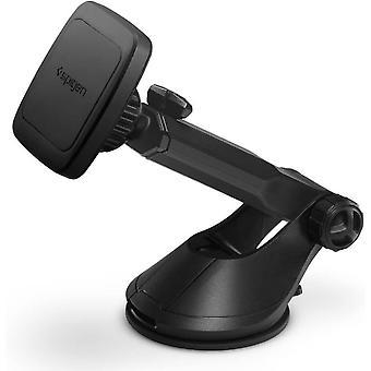 Spigen Handyhalterung Auto, Kuel Magnet Technologie, 360° Armaturenbrett und Winschutzscheibe erweiterbar