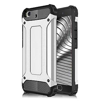 Shell for Xiaomi Mi 5s Hard Armor Protection Silver TPU Case