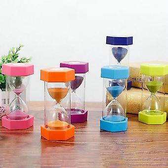 Hourglass Sand Clock Kitchen Timer Child Game - Kids Educational Toys