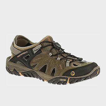 Merrell Men's All Out Blaze Sieve Walking Sandaler Brindle
