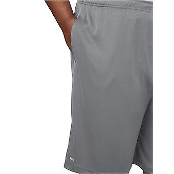 Essentials Men's Big & Tall 2-Pack Performance Shorts, schwarz/mittelgrau, 3X