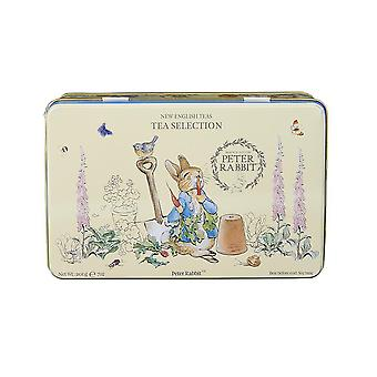 Beatrix potter tin with 100 assorted teabags